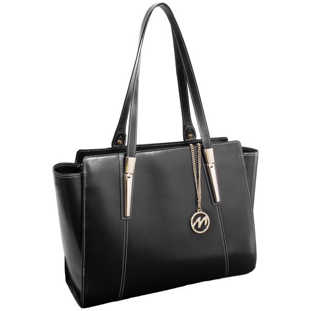 McKlein ALDORA Ladies' Leather Tote with Tablet Pocket~9750