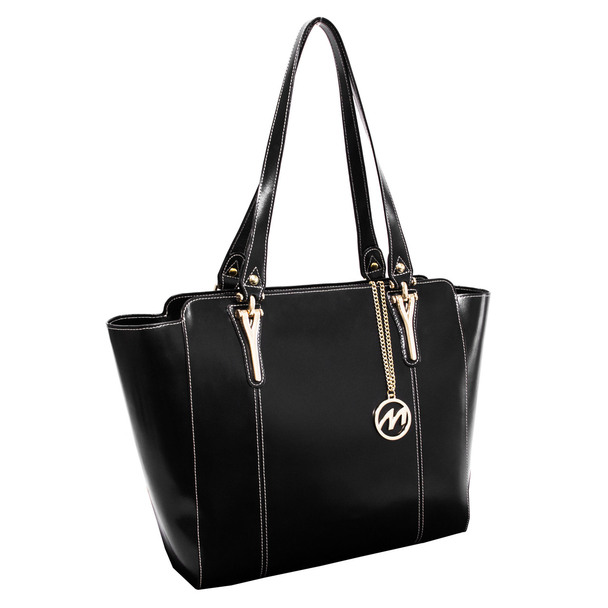 McKlein ALICIA Ladies' Leather Tote with Tablet Pocket~9751