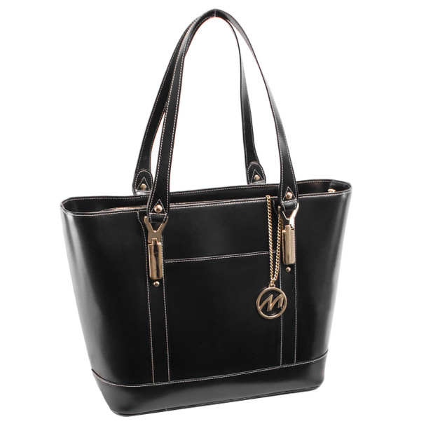 McKlein ARYA Ladies' Leather Tote with Tablet Pocket~9771