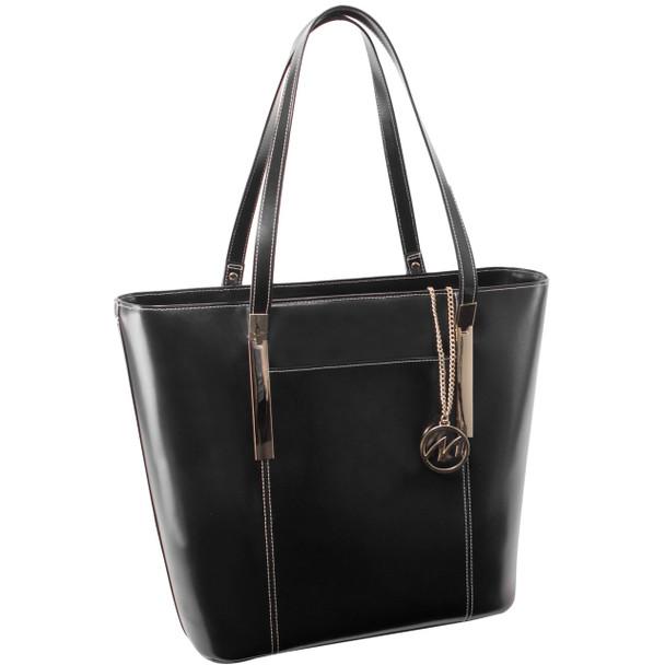 McKlein DEVA Ladies' Leather Tote with Tablet Pocket~9773
