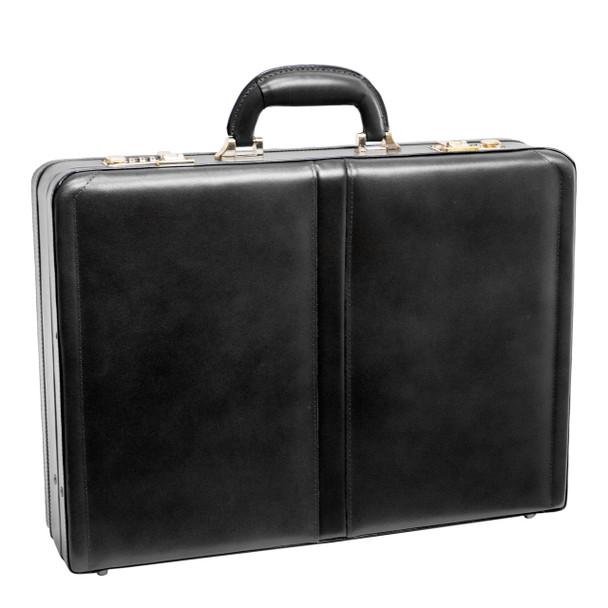 """McKlein HARPER Leather 4.5"""" Expandable Attaché Briefcase~8047"""