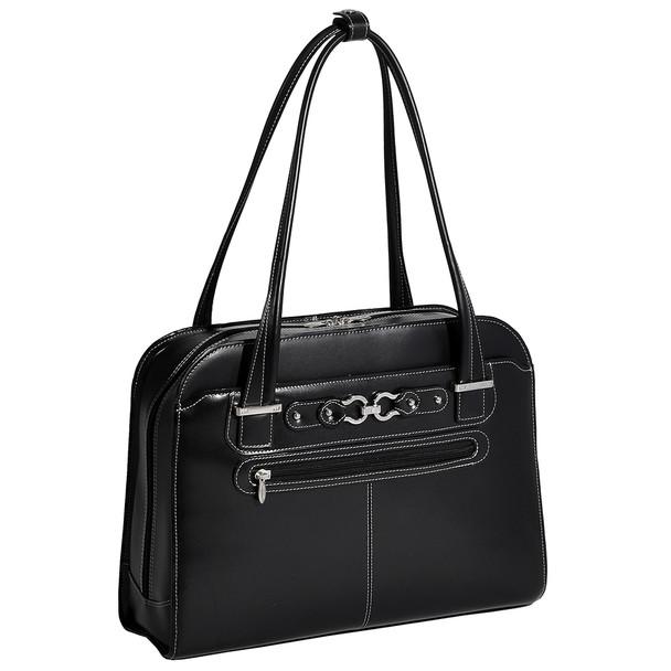 """McKlein MAYFAIR 15"""" Ladies' Leather Laptop Briefcase~96305C"""
