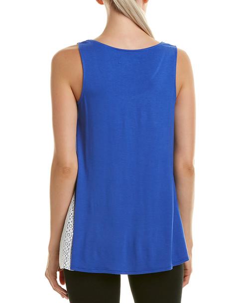 Lace-Trim Pajama Top~141282042113