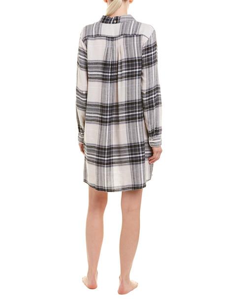 Plaid Shirt Dress~141295103413