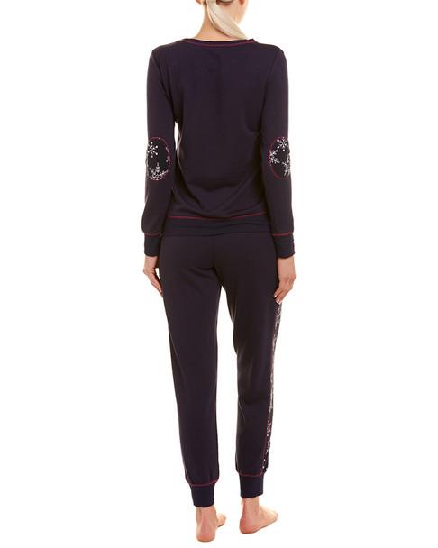 2pc Snowflake Filigree Pajama Set~141265894913