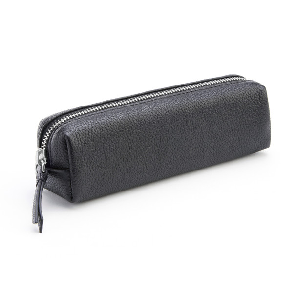 Pebbled Genuine Leather Organizational Roll~884-BLACK-4