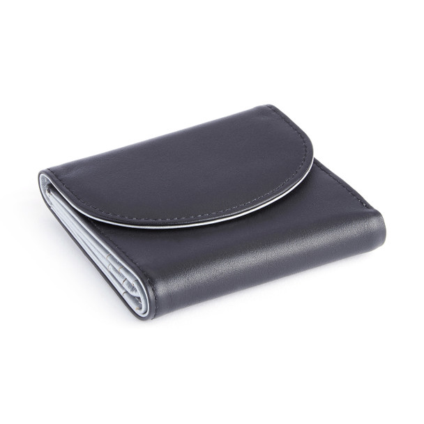 RFID Blocking Leather Trifold Wallet~RFID-142-MS-5