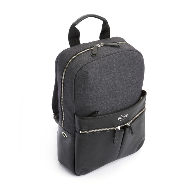 ROYCE 'Powered Up' Work Backpack~686-BLGY-4