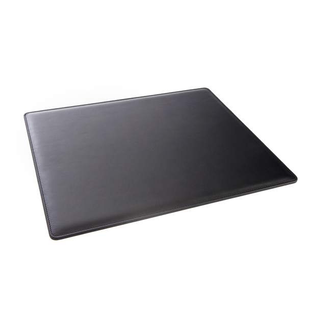 "ROYCE Executive 17"" x 14"" Desk Pad Blotter in Genuine Leather~775-BLACK-6"