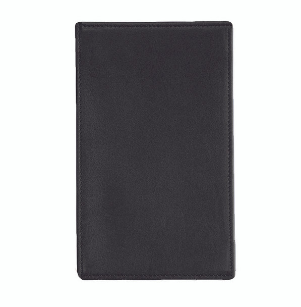ROYCE Executive Note Jotter Organizer in Genuine Leather~705-BLACK-5