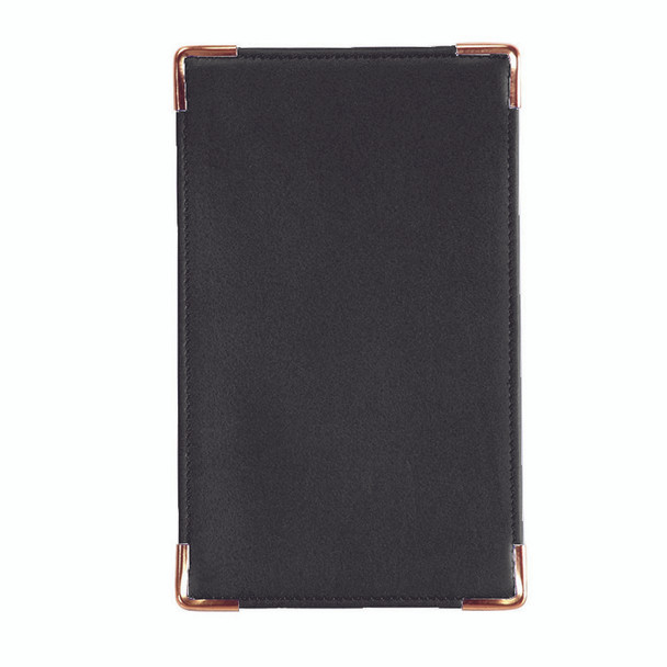 ROYCE Executive Note Jotter Organizer in Genuine Leather~701-BLACK-5