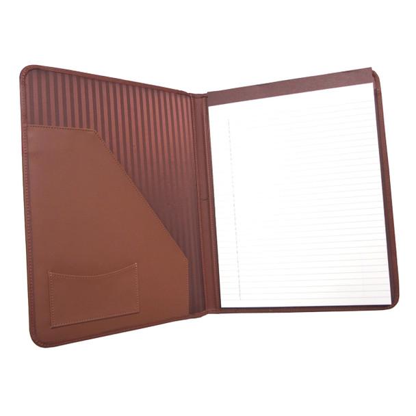 ROYCE Executive Writing Portfolio Organizer in Genuine Leather~745-5