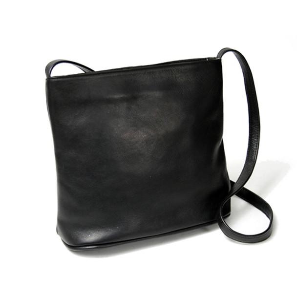 ROYCE Leather Chic Shoulder Bag in Colombian Genuine Leather~VLSHBAG-BLK