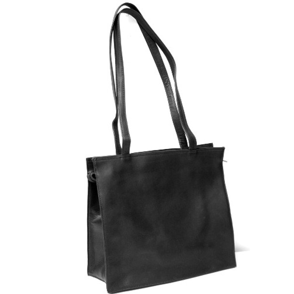 ROYCE Lightweight Tote Bag in Colombian Genuine Leather~VLSTOTE-BLK
