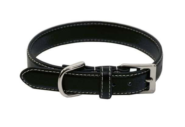 ROYCE Luxury Small Dog Collar in Genuine Leather~3004-BL-6
