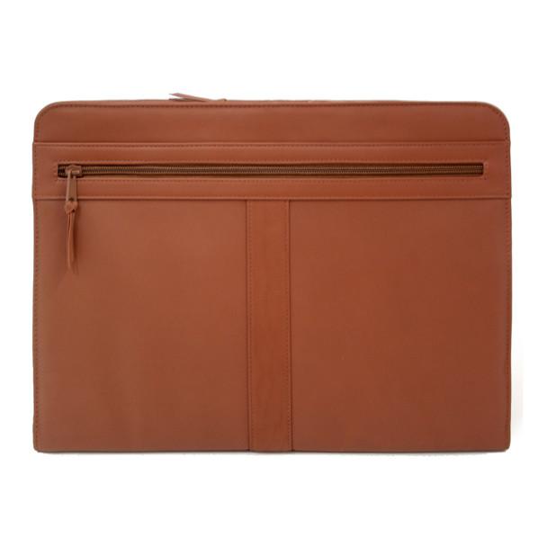 ROYCE Luxury Zip-Around Writing Portfolio and iPad Tablet Organizer in Genuine Leather~306-5