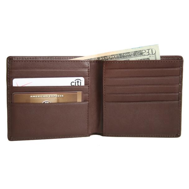 ROYCE Men's Bifold Credit Card Wallet in Genuine Leather~106-5