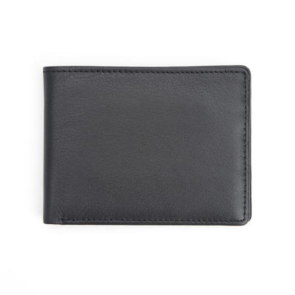 ROYCE RFID Blocking Bifold Credit Card Wallet in Genuine Leather~RFID-107-BLK-5