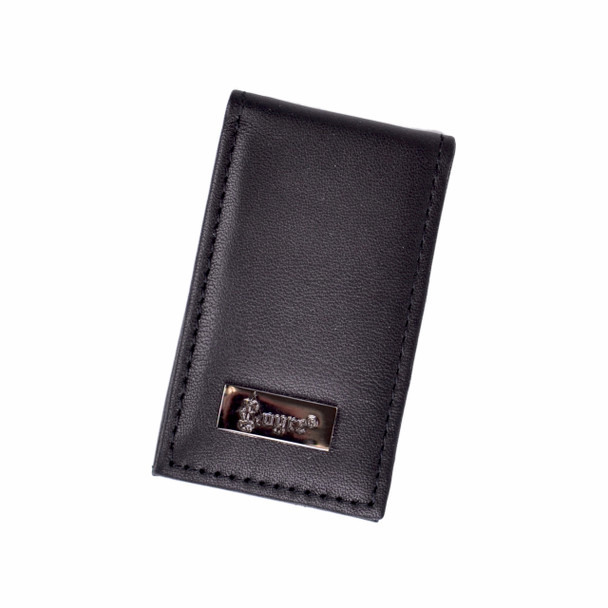 ROYCE Slim Magnetic Money Clip in Genuine Leather~812-BLK-5