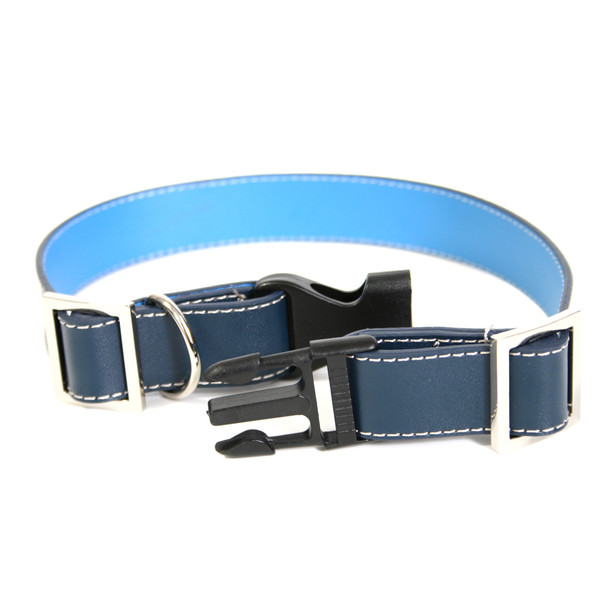 ROYCE Small Dog Collar in Genuine Leather~3001-RB
