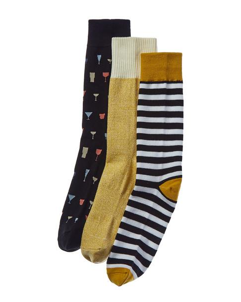 Richer Poorer Pack of 3 Socks~10101575920000