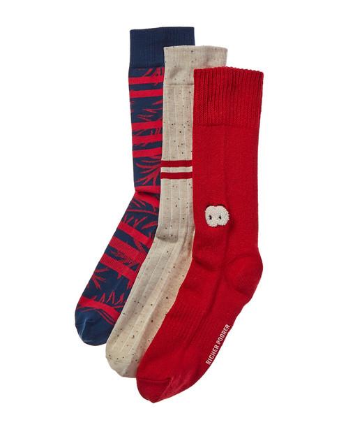 Richer Poorer Pack of 3 Socks~10101575930000