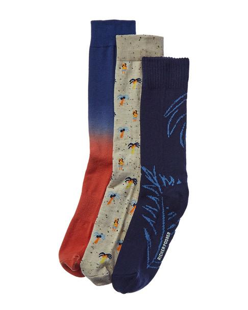 Richer Poorer Pack of 3 Socks~10101576010000