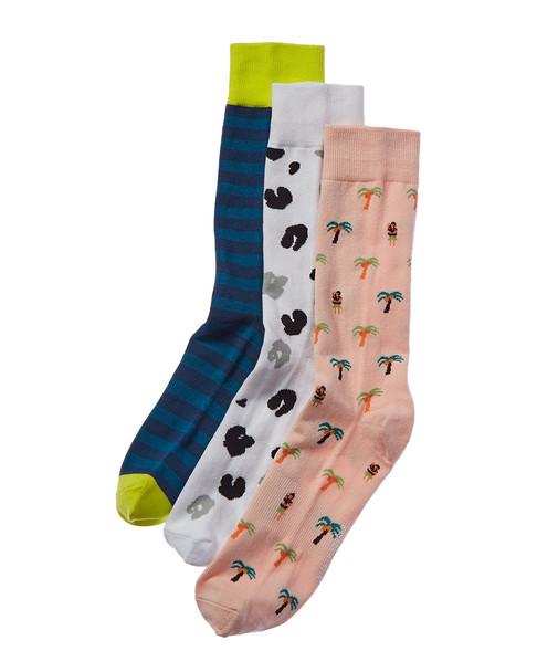 Richer Poorer Pack of 3 Socks~10101576040000
