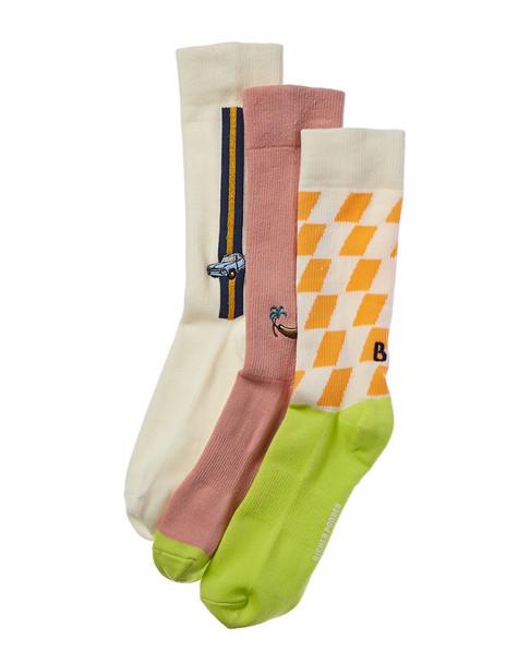 Richer Poorer Pack of 3 Socks~10101576060000