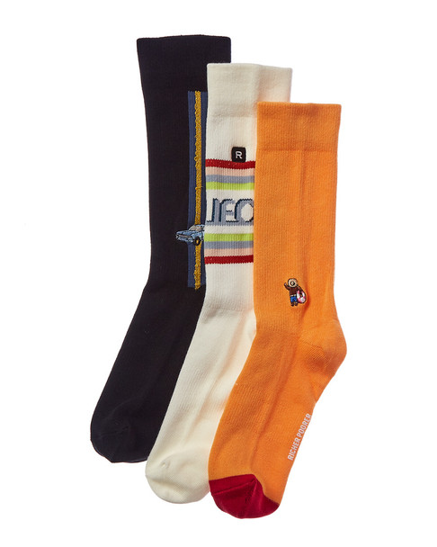 Richer Poorer Pack of 3 Socks~10101576080000