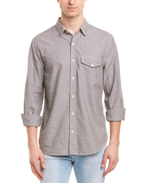Save Khaki United Chambray Work Shirt~1010169472