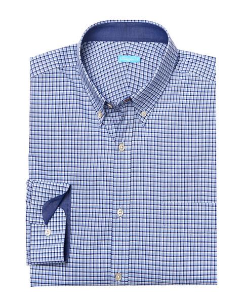 J.McLaughlin Gramercy Tattersall Check Woven Shirt~1010178259