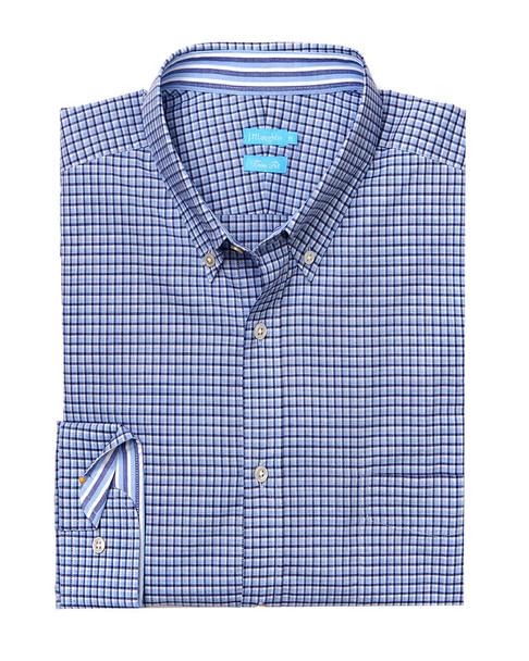 J.McLaughlin Westend Check Woven Shirt~1010178261