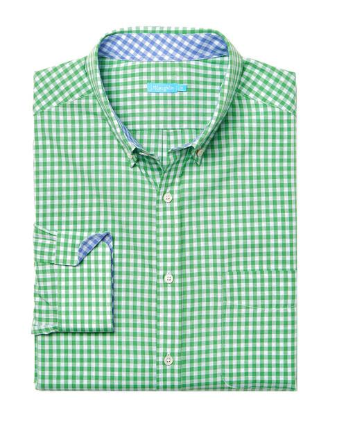J.McLaughlin Carnegie Gingham Woven Shirt~1010178266