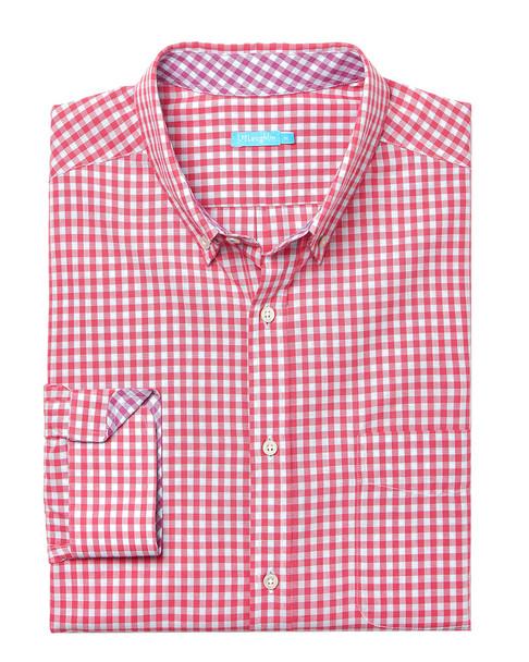 J.McLaughlin Carnegie Gingham Woven Shirt~1010178267