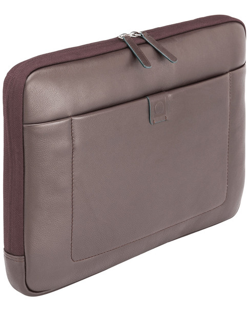 Delsey Pernety 14in Leather Laptop Sleeve~10408742540000