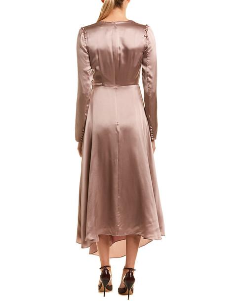 AMUR Silk Midi Dress~1050175810
