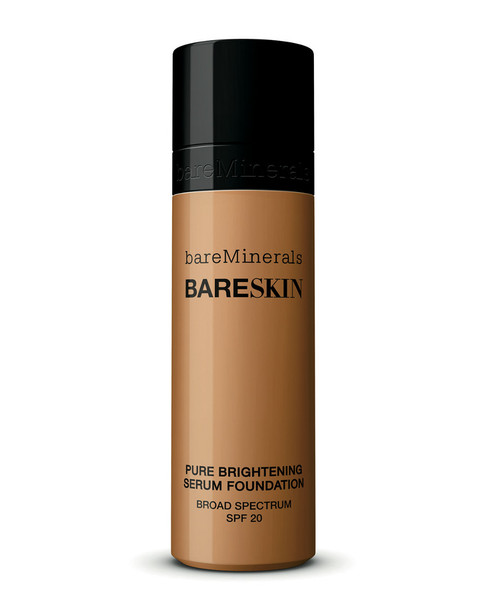 bareMinerals 1oz #18 Bare Walnut bareSkin Pure Brightening Serum Foundation~11111172230000