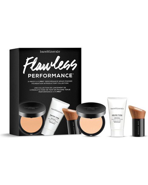 bareMinerals #02 Dawn 3pc Flawless Performance barePro Introductory Collection~11111347850000