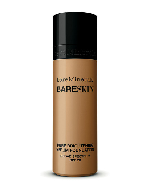 bareMinerals 1oz #14 Bare Caramel bareSkin Pure Brightening Serum Foundation~11111348150000