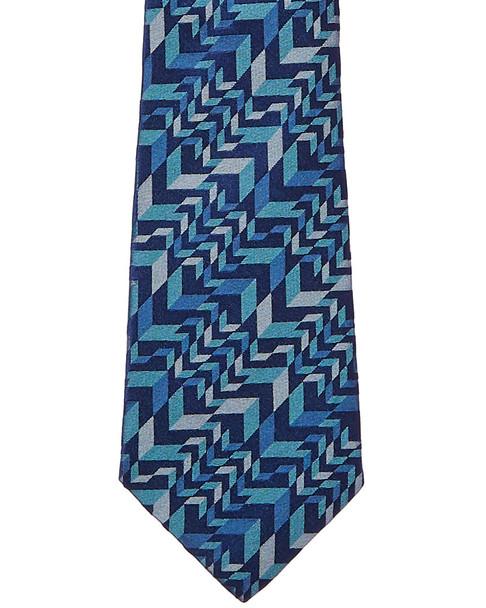 Turnbull & Asser Blue Arrows Silk Tie~12231716900000