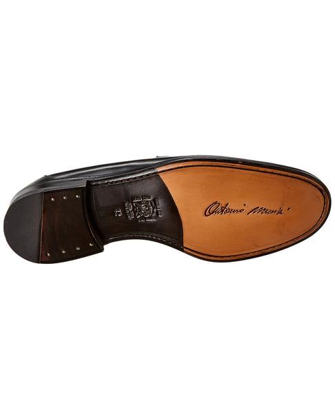 Antonio Maurizi Leather Penny Loafer~1312052989