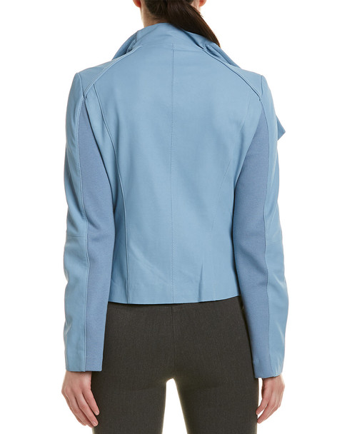 Tahari Leather Jacket~1411031463