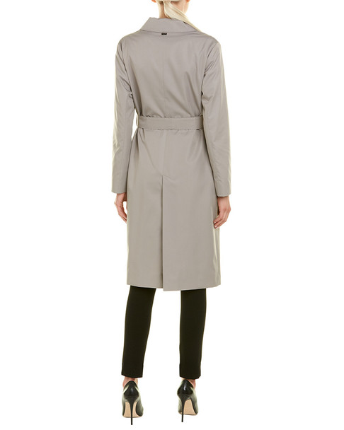Cinzia Rocca Icons Belted Trench Coat~1411032709