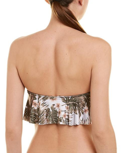 Chaser Island Palm Bandeau Bikini Top~1411144834