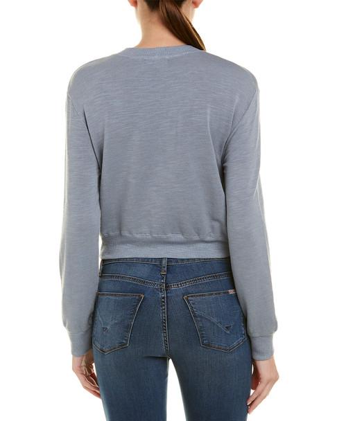 Monrow Lace-Up Side Sweatshirt~1411162811