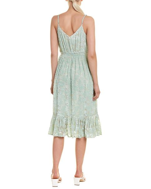 Hemant & Nandita Velvet Midi Dress~1411171857