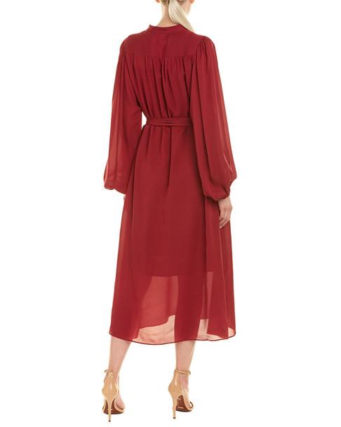Equipment Francois Silk Midi Dress~1411173009