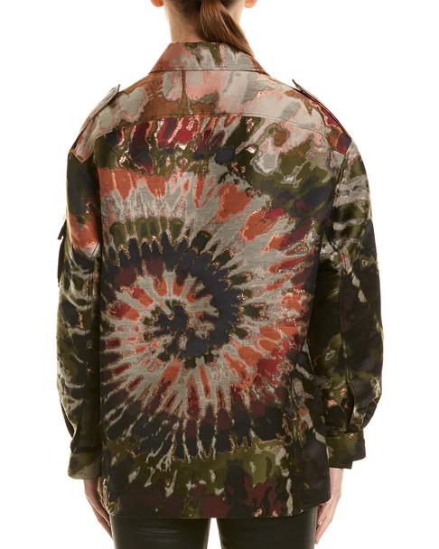 Valentino Oversized Tie-Dye Jacket~1411315336