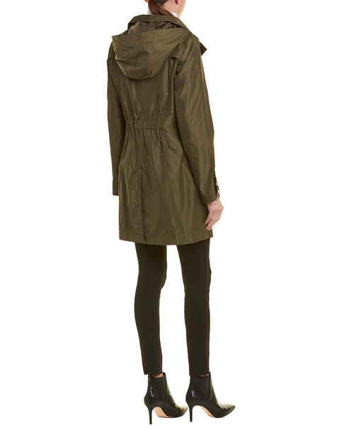 Tahari Hooded Raincoat~1411325883